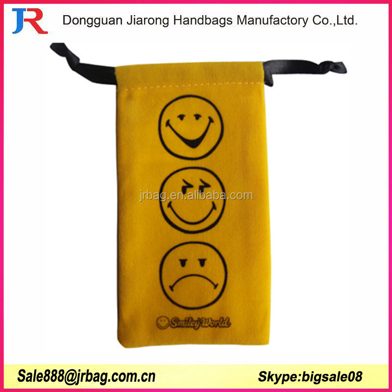 Promotional Small Velvet Drawstring Bag Dongguan Manufacture