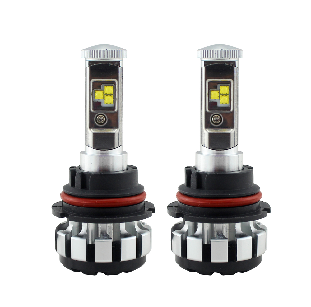 High prower led light h1 h3 h7 h11 9005 9006,10 Sets, 3000k 4300k 6000k 8000k