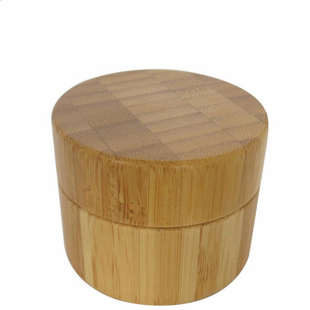 50g bamboo container plastic wood cream jar cream jars for Container en bois