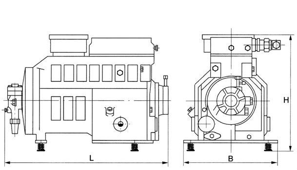 Copeland Semi Hermetic Compressor Wiring Diagram - 24h schemes on