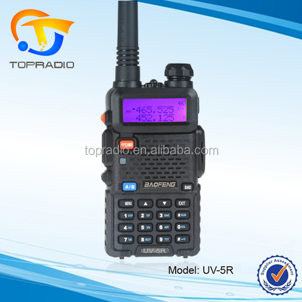 Handy Talkie UV5R 136-174 MHz 400-470 MHz para Baofeng Handheld UHF VHF 2 Way Rádio UV-5R