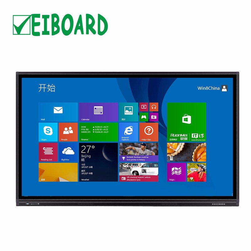 Top kwaliteit gloview 3d touch screen interactieve smart whiteboard tv voor e-learning