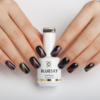 BLUESKY New Arrival with Special effects CHAMELEON CAT EYE COAT gel nail  polish, View nail gel, BLUESKY Product Details from Guangzhou Bluesky ...