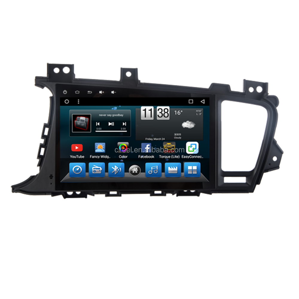 9 ''Android Auto Dvd-speler Multimedia Head Unit Navigatie en Entertainment Systeem voor Kia K5 Optima 2011 2012 2013