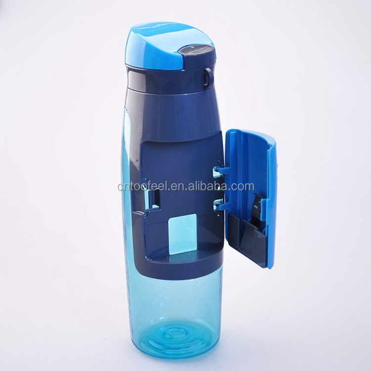 Food grade material sports fitness multifunction plastic drinking water bottles