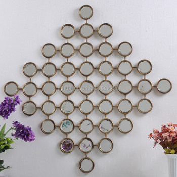 Multi Small Round Circles Wall Mirrors For Home Decoration