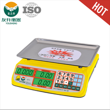 Yellow Color Full ABS Materials Digital Electric Scale.LED Big Font Display,460g Heavy Duty Plate.High Accuracy And Sensitive