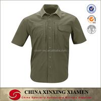 Short Sleeve 2-Pocket Military Shirt BDU Shirt