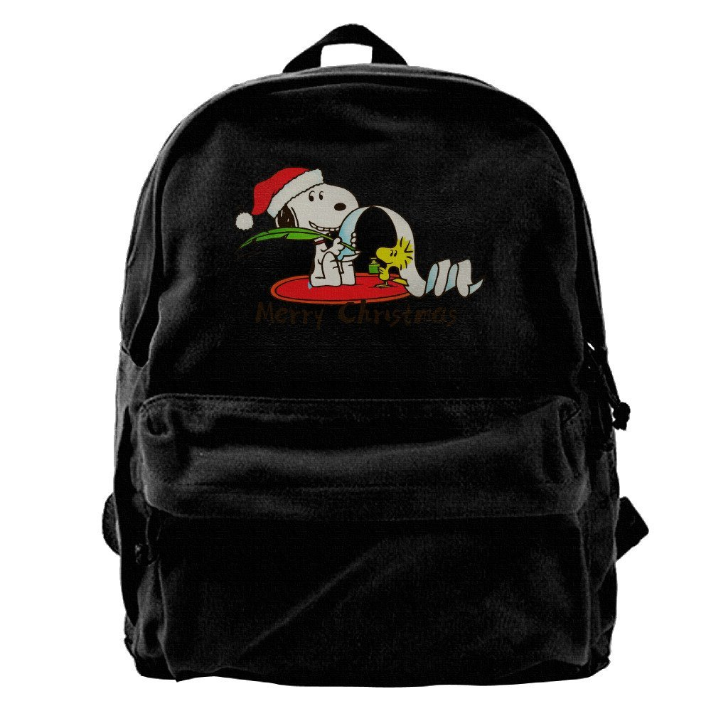 eb5cfe7aed Get Quotations · Snoopy Merry Christmas Backpack Travel Backpack Daypack  Rucksack For Men Boys Women Girls