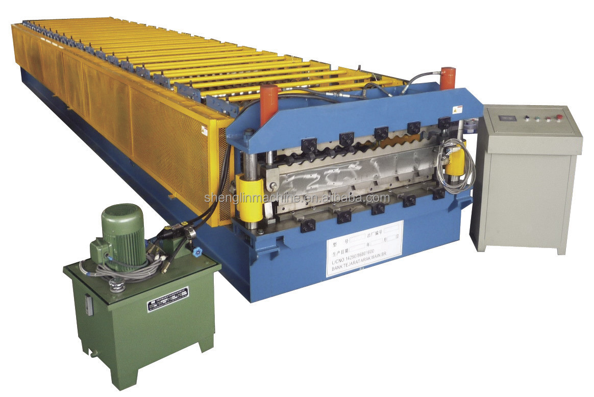 Corrugated Roll Forming Metal Roofing Machines For Sale
