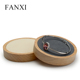 FANXI Fashion Classic Shop Counter Organizer Jewelry Ring Earring Necklace Watch Display Stand Solid Wood Bracelet Holder