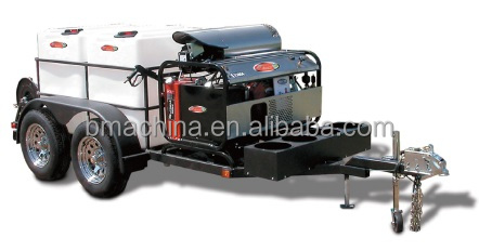 Mobile hot water High Pressure Washer