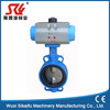 "2"" PN16 pneumatic control quick-install butterfly valve with actuator for air"