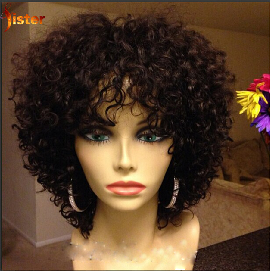 Buy Human Hair Afro Wig For Black Hair 32