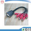 Best Price New VGA to S-Video AV RCA TV Out Converter Adapter Cable for Computer Desktop PC