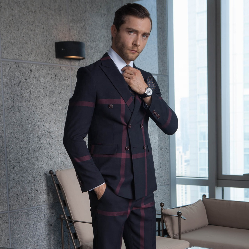 reliable quality new appearance superior performance Oem Plaid 3 Piece Tuxedo Wedding Suit For Men - Buy Double Breasted Tuxedo  Wedding Suit,Custom Tuxedo Wedding Suit,Fashion Mens Plaid Suit Product on  ...