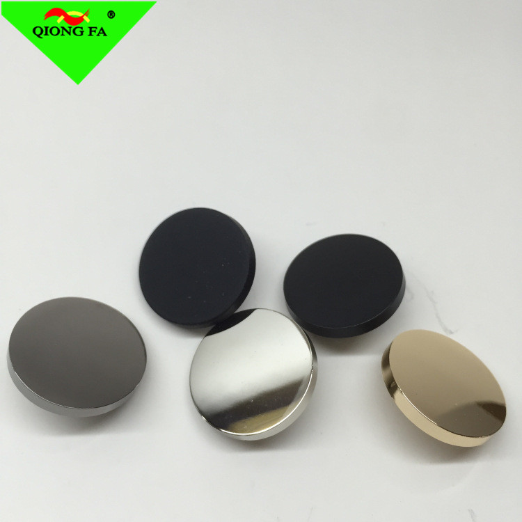 HYD Custom 17mm Metal Snap Button Manufacturers High-grade Shiny Plating Smooth Face jean Button
