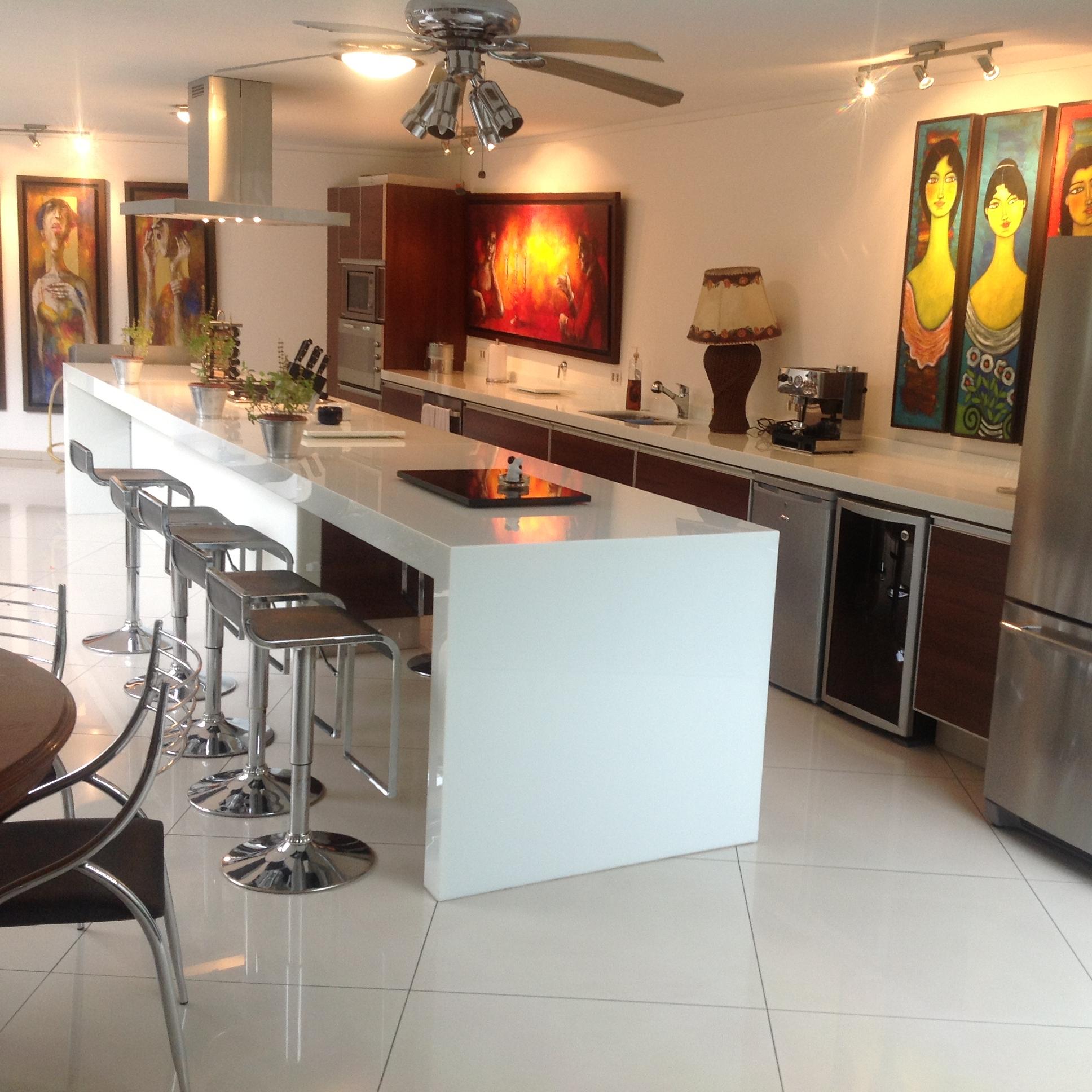 Venta al por mayor mesas de cocina blancas-Compre online los ...