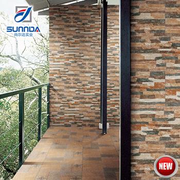 200x400 Neue Villa Glasierte Außen Klinker, Außerhalb Stein Dekoration  Digital Ceramic Wandverkleidung Fliesen