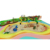 children's toy 2019 outdoor playground kids tube slide children rainbow climbing net
