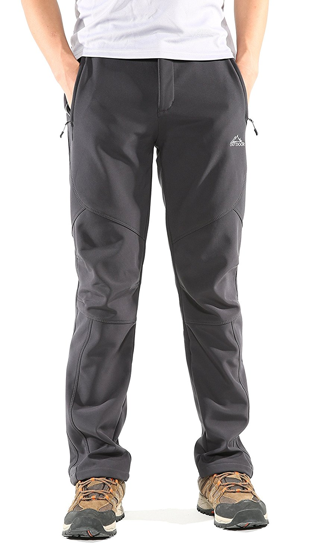 Cruiize Girls Straight Leg Fleece Lined Warm Elastic Wasit Warm Pants