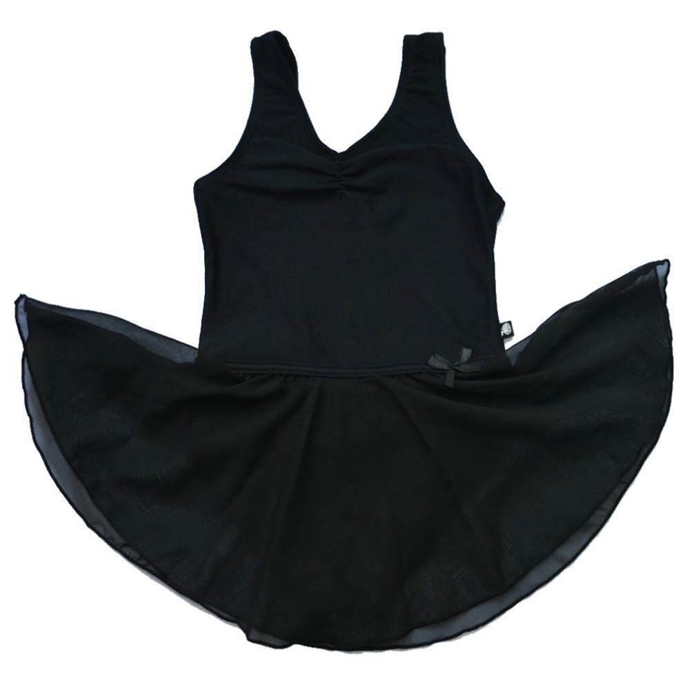 670971da0db4 Buy Retail Novelty Girls  39  Kids Black Leotard Ballet Tutu Dance ...