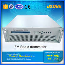 professional radio broadcasting 300W FM transmitter with AES/EBU