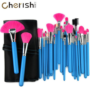 Best selling private label makeup brush cheap makeup tools make up brushes set 32-piece