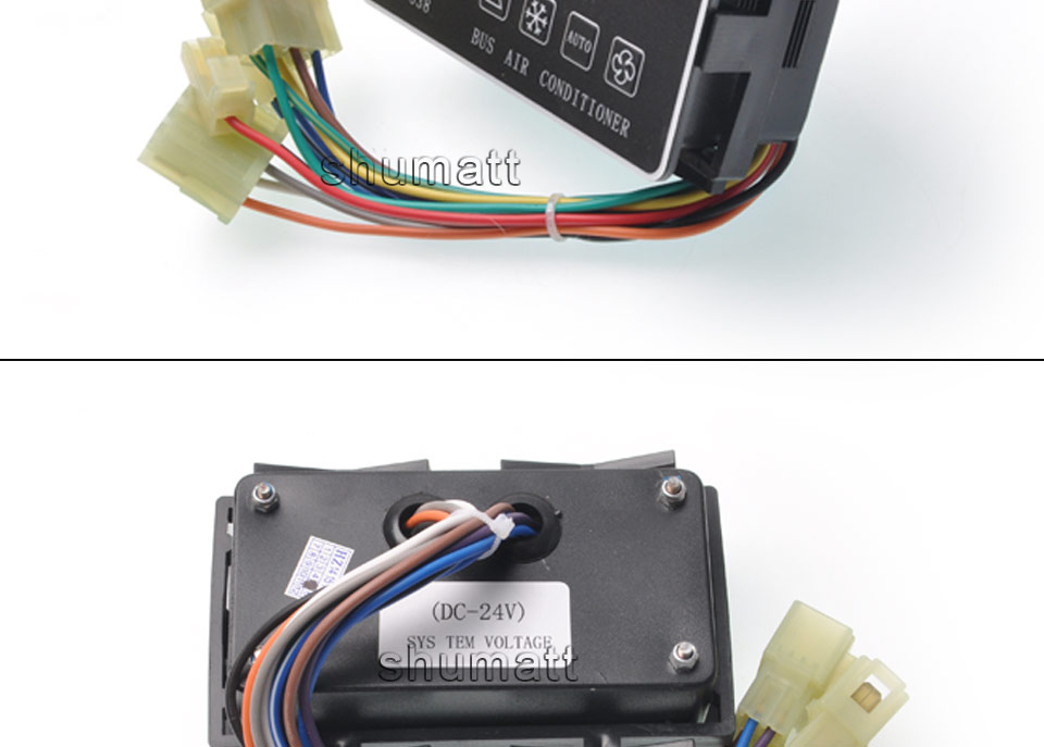 24V auto ac climate controller taichang tc-838 tc-839 bus aircon climate control panel (4).jpg
