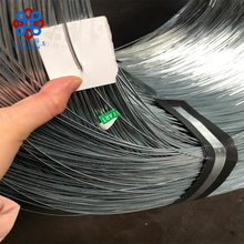 High carbon Z2 spool galvanized steel wire from Tianjin