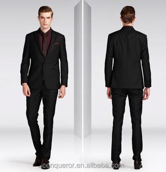 European Style Bespoke Men Dress Suits Slim Fit Suits Kr66 - Buy ...