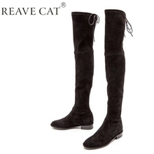 6212187ab9df Thigh High Boots With No Heel - Yu Boots