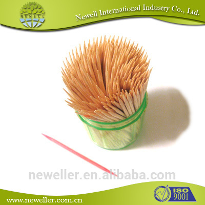 2014 Low price boxed toothpicks with high quality and cheap price wood baboo toothpick
