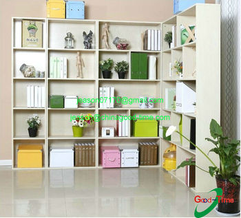 Falt Packing Tree Shaped Bookshelf