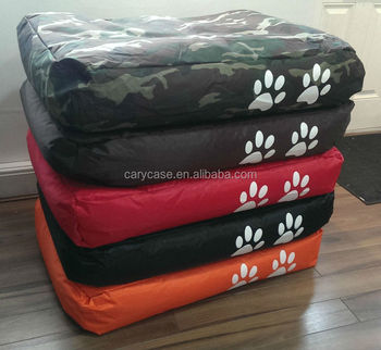 Two Paw Print Bean Bag Pet Dog Cat Chair Bed Mattress 40inch X