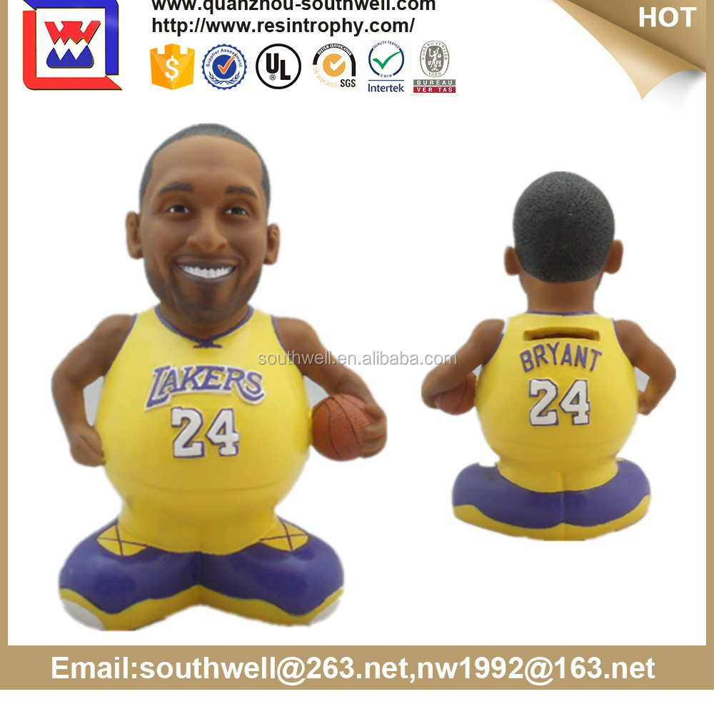 NBA Saving Box Resin or Ceramic /cute saving bank