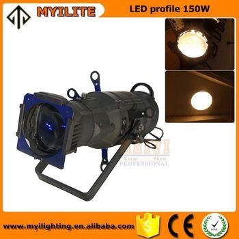 Novo Estilo De Alumínio Palco Follow Spot Light 3200 K Palco Iluminação De  Pista COB LED