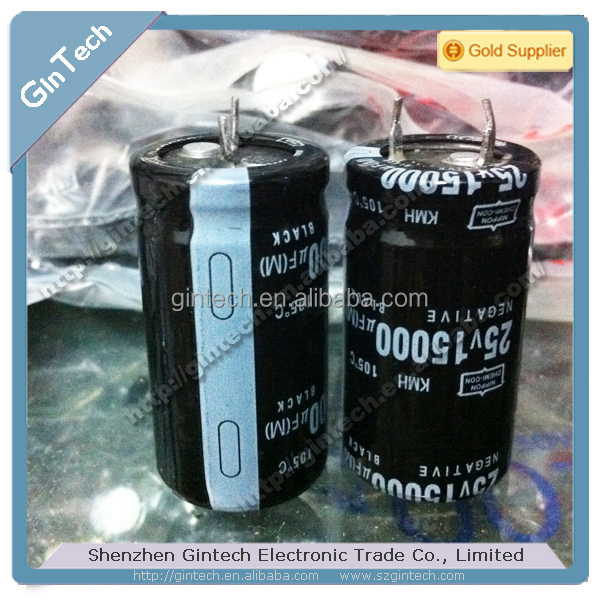 HIGH capacitance nippon chemi-con 25V15000UF KMH NCC capacitor