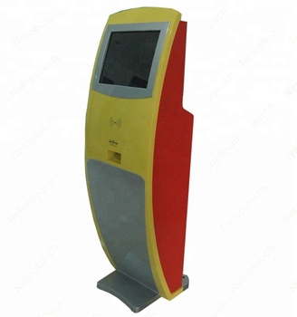 Touch screen ticket printing internet kiosk