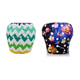 Custom printing waterproof material washable reusable baby swimming cloth diapers