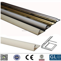 2017 SS304 stainless steel ceramic tile corner trim / hotel decorative metal profile
