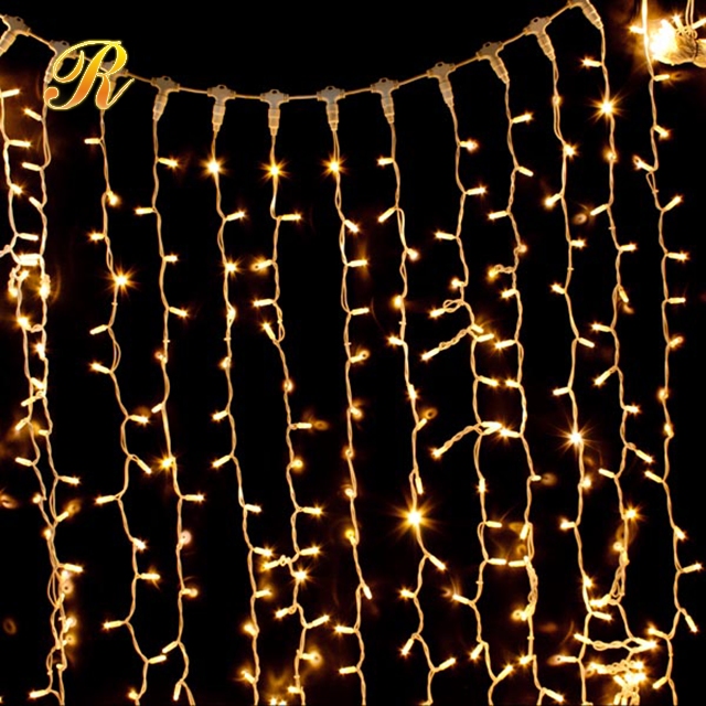 Outdoor Warm White Wall Decorative Led Fairy Curtain Lights Buy