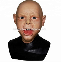 Horrible Party Masker Latex Horror Masker Huilen <span class=keywords><strong>Baby</strong></span> Masker
