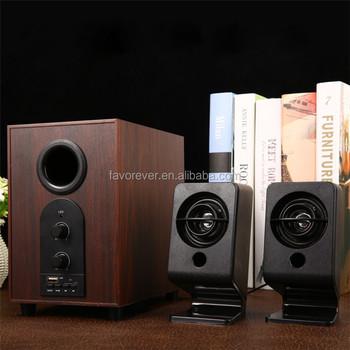 70 Passive Bookshelf Speakers Brown Wood Grain