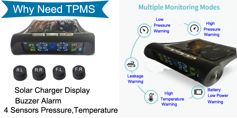 Chinese Manufactory TPMS Car Tire Pressure Monitor Shenzhen High Quality Tire Pressure