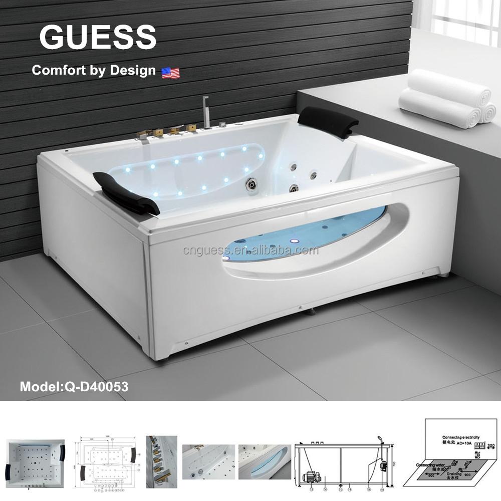 massagestrahl badewanne mit tv/whirlpool-badewanne für zwei person, Hause ideen