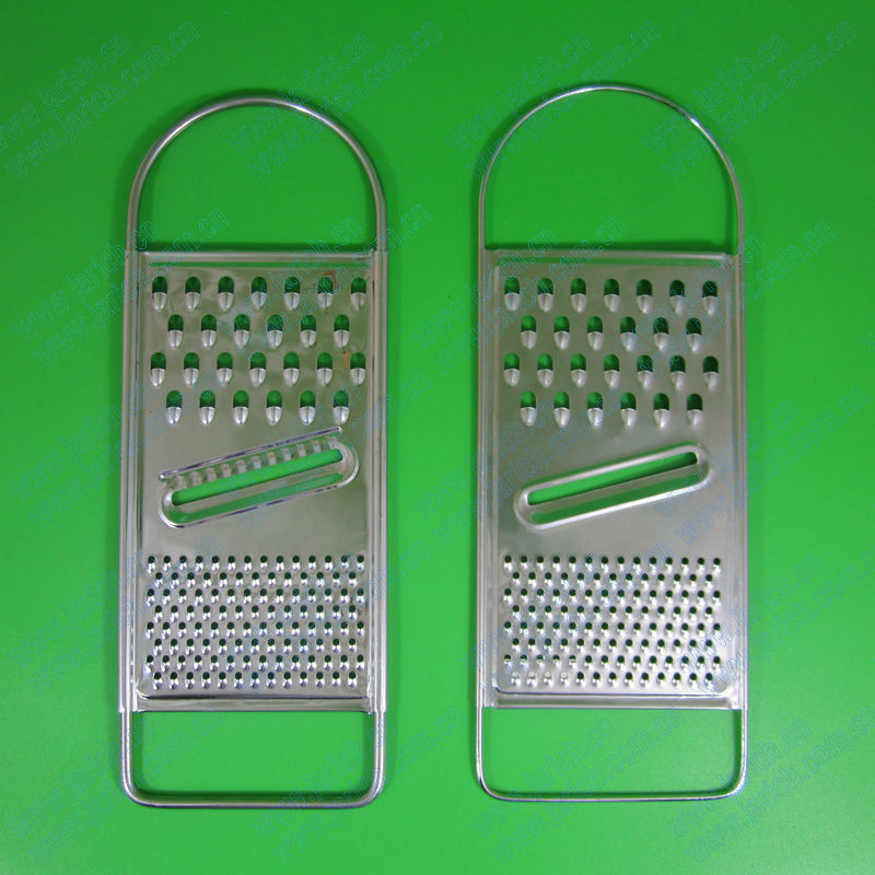 flat cheese grater with multiple grating blades (JYKG-E103)