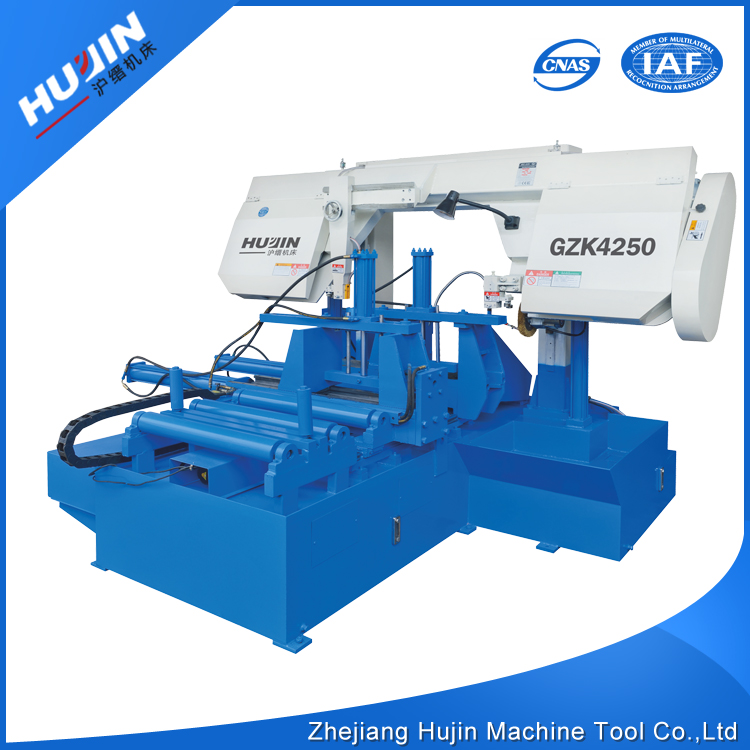 Wholesale China Merchandise CNC Fully Automatic Metal Cutting Band Sawing Machine