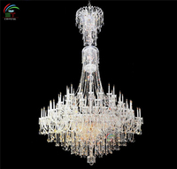 traditional Olde World chandelier crystal light for stair
