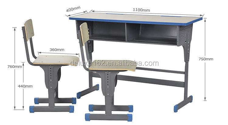 A1801 Chaise Étudiant Mis Buy Confortable De Bureau Des Double Écoles Ensemble Bureau Chaise Connecté Et Pas Pas Liste Classe Réglable De Cher Salle W29YDHEI